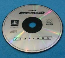 SONY PLAYSTATION 1 PS1 JUEGO PAL SOLO DISCO - DESTRUCTION DERBY 2 PLATINUM