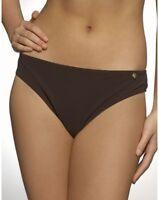 Figleaves Swimwear Waikiki Classic Bikini Brief Bottoms Chocolate Brown
