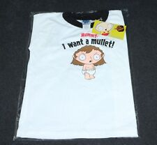 Family Guy Promo Stewie Promo Mullet Child Size 4T T-Shirt 2005
