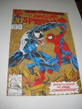 POSTER THE AMAZING SPIDER-MAN vs VENOM n. 375 ANNIVERSARY L' UOMO RAGNO