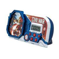 Marvel Civil War Night Glow Alarm Clock Captain America Iron Man Avengers New