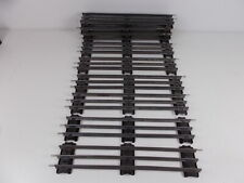 French Hornby O Gauge Straight Track - 10 pieces flat sleepers