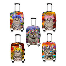 """Size M Elastic Luggage Suitcase Dust-proof Cat Cover Protector , For 22''~ 24"""""""