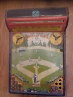 1920s Hustler Toys The Great American Game Tin Baseball Lithograph Antique