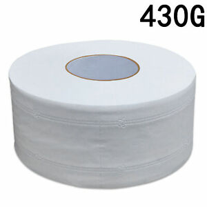 Large Commercial Roll Paper Thick Tissue 4 Ply Bathroom Office 430/600g