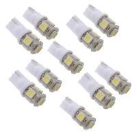 1X(10 x T10 194 168 W5W 5 SMD 5050 LED Lampara Bombilla luz de noche Xenon Bl YU