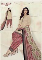 """UK STOCK salwar kameez patiala suit indian Cotton Size XL Chest 42"""" Readymade"""