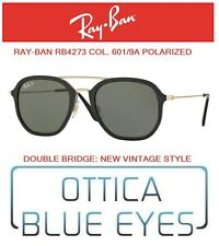 12b088c886 Occhiali da Sole RAYBAN 4273 601 9A polarized Sunglasses Ray Ban double  bridge