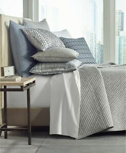 Hotel Collection Diamond Stripe Quilted King Coverlet