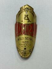 NEW OLD STOCK vintage Schwinn ADMIRAL bicycle Head Badge