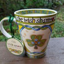 Shamrock Mug - Irish Weave Clara