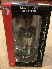 Legends of the Field Ray Lewis #52 Baltimore Raven Figurine Limited Edition