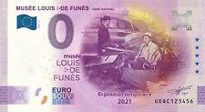 """BILLET 0 EURO LOUIS DE FUNES """"le corniau""""  FRANCE  2021 NUMERO DIVERS"""