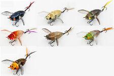Chasebaits Ripple Cicada Wakebait Crawler 1 3/4 inch Hollow Bodied Topwater