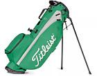 NEW TITLEIST 2021 PLAYER 4  STAND BAG  MODEL# TB21SX4-32 GREEN /GRAY