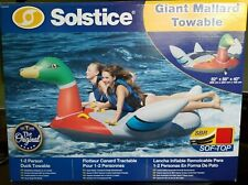 Solstice Giant Mallard Duck Towable / Pull Behind 1-2 Person *New*
