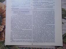 1900-1918 1913 Fragment Zeitschrift Bergbau Beilage Nachruf Bergbaurat Eskens Aus Wegberg Zeitschriften