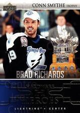 2004-05 Upper Deck Hardware Heroes #3 Brad Richards, Conn Smythe Trophy