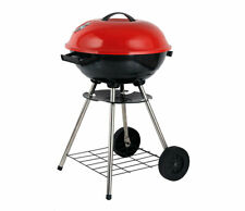 Brentwood BB-1701 17-Inch Portable Charcoal BBQ Grill, Red