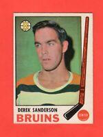 1969-70 OPC  # 201  Derek Sanderson Exmt