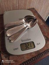 12 petites Cuillères Métal Argenté Orfèvrerie DIXI