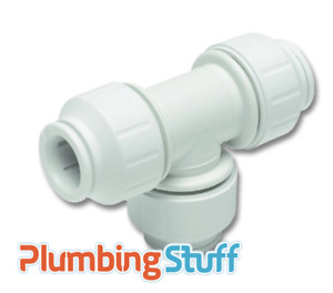 JG Speedfit 15mm Single Pipe Fittings - elbow, connector, stop end, equal tee