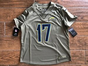 LA Chargers Philip Rivers Nike 2017 Women's Salute To Service Jersey X Large NWT