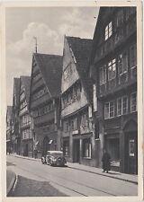 Osnabrück, Bierstrasse, altes Auto,Bürger, alte Ansichtskarte vom 04.08.1933