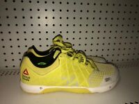 Reebok CrossFit Nano 4.0 Womens Athletic Cross Training Shoes Size 10 Yellow