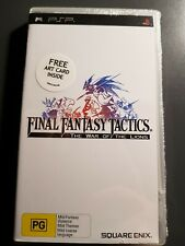 Final Fantasy Tactics: The War of the Lions - PSP (Factory Sealed)