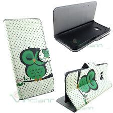 Custodia booklet GUFO VERDE per HTC One M9 flip cover STAND case portafoglio