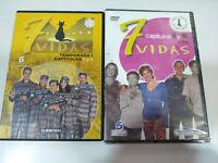 7 VIDAS Paz Vega Javier Camara - 2 x DVD - 4 CAPITULOS + DVD EXTRAS Region 2