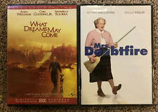 Brand New! - Robin Williams - Double Feature - What Dreams May Come & Doubtfire
