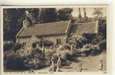C 122^ ISLE OF WIGHT - POSTCARD OF THE CHURCH,BONCHURCH - Walter Scott