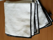 Microfibre cleaning cloths, 20, white. 300gsm 40x40cm. Special Price