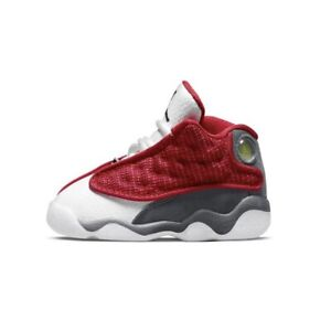 Nike Air Jordan Retro 13 Gym Red Flint Grey White Gray Toddler TD Size