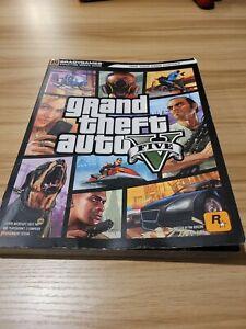 Grand Theft Auto V - Brady Games 5 Signature Strategy Guide Xbox 360