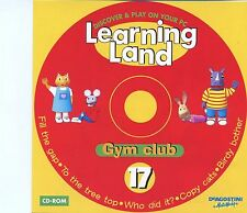 Learning Land PC CD Rom / No.17 - Gym Club