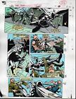 1991 Moon Knight 22 page 24 Marvel Comics colorist's color guide art: 1990's