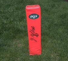 New York Jets DEE MILLINER Signed Autographed Football Pylon COA! PROOF!
