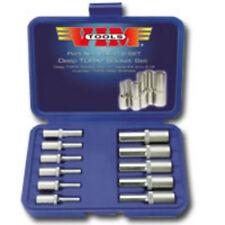 VIM Tools VDE418 11 Piece Deep Torx Socket Set - E4 Thru E18