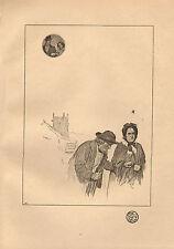 1900 ilustraciones de impresión VICTORIANO Studio ~ a un poema de Ralph Pavo Real ~