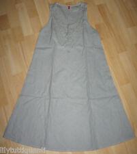 CAPTAIN TORTUE - Robe en lin été gris/bleu - Taille 38 - TBE !!!!!