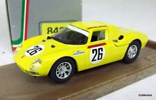 BOX 1/43 - 8436 FERRARI 250 LM - LE MANS 1965 DIECAST MODEL CAR IN YELLOW #26