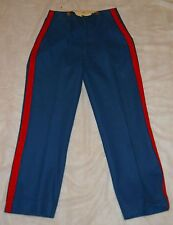 "MARINE CORPS DRESS BLUE WOOL TROUSERS ""1933-34 STAMP"" ORIGINAL ISSUE, NICE!"