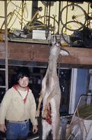 Vintage Photo Slide 1974 Deer Hunting Graphic  Hunter New York