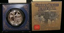 2002 Canada  Large Silver  $1-Golden Jubilee -Nice Box