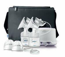 Philips AVENT Double Electric Comfort Breast Pump SCF334/12 New