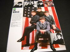 BEATLES 3-video program release 1989 music biz PROMO DISPLAY ADVERT mint cond