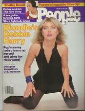 People Weekly Magazine March 16 1981 Debbie Harry Blondie